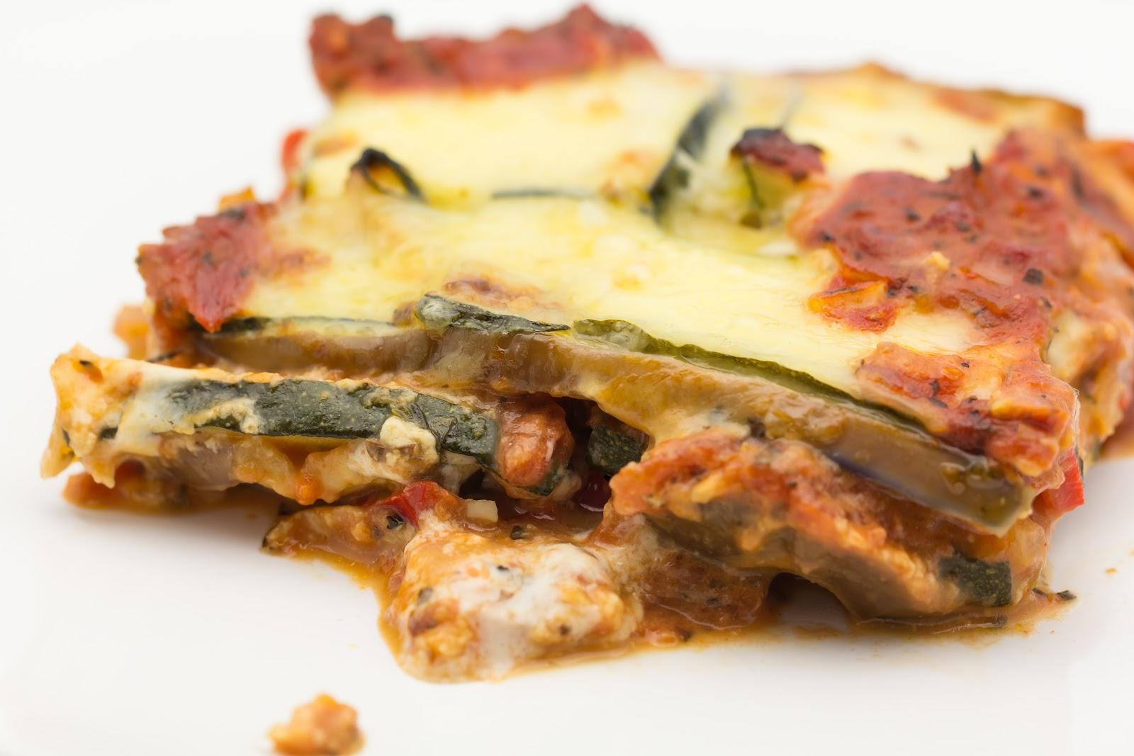 Hovkonditorn: Eggplant-Zucchini Lasagna