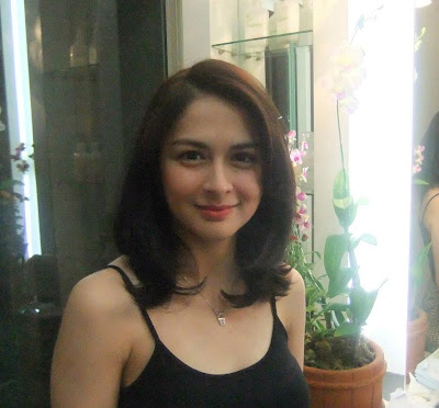 Marian Rivera new haircut 2012