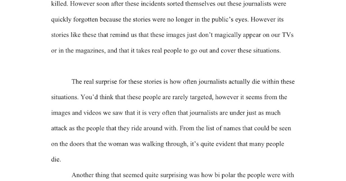 journalist movie essay jacks fantastic writing blog and stuff