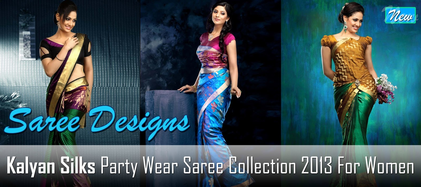 New Fashion Lay Latest Fashion Trend: Latest Kalyan Silk Saree ...