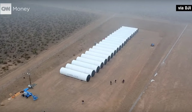 The construction of Hyperloop has finally started