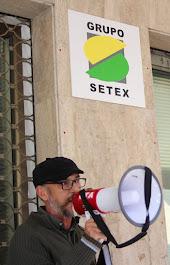 Hora Sur de Canal Sur Radio se hace eco de la manifestación por la readmisión de José Ramón en el O