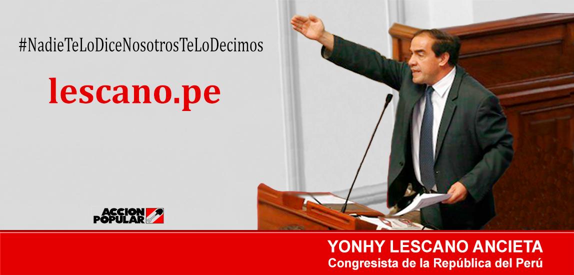 Yonhy Lescano