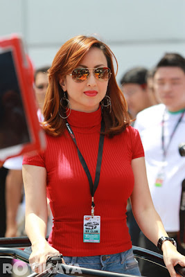 gambar hot maria farida di super gt, sepang