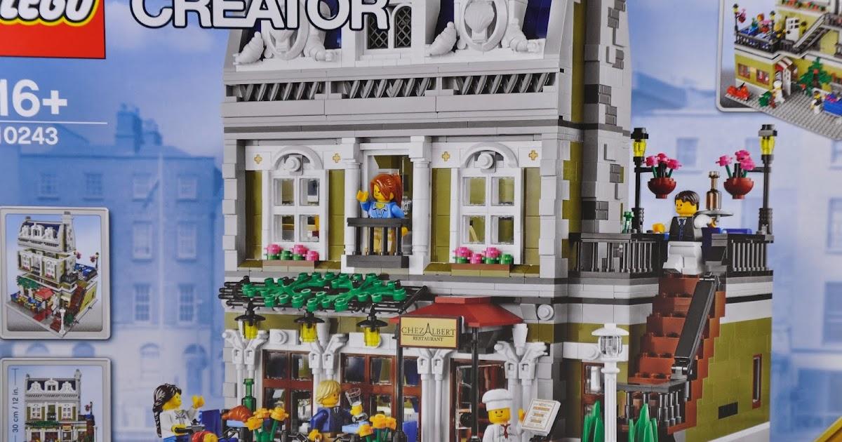Oz Brick Nation Lego Creator 10243 Parisian Restaurant Review