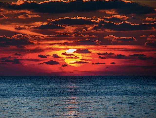 Foto Panorama Sunset yang Mengagumkan-7