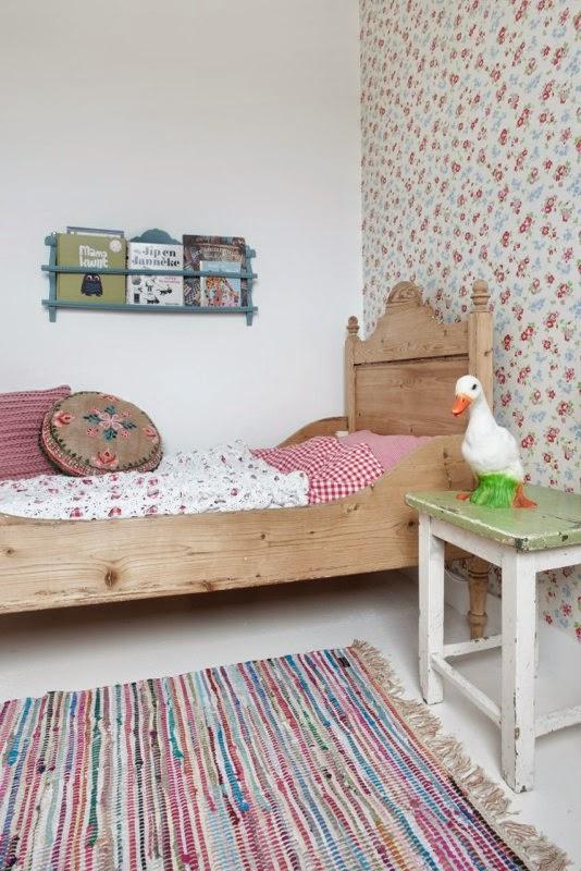 Casa Decorada con Muebles Reciclados