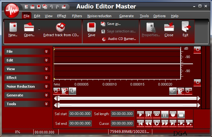 Download Audio Editor Master 5.4.1 + Serial Number