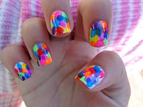 Para Tumblr Nail Art
