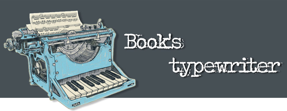 book's typewriter