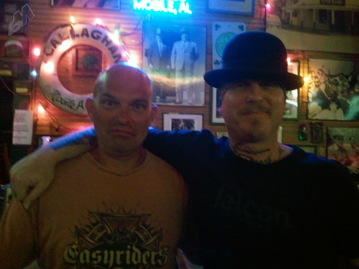 mike and trent at callaghans in mobile, alabama