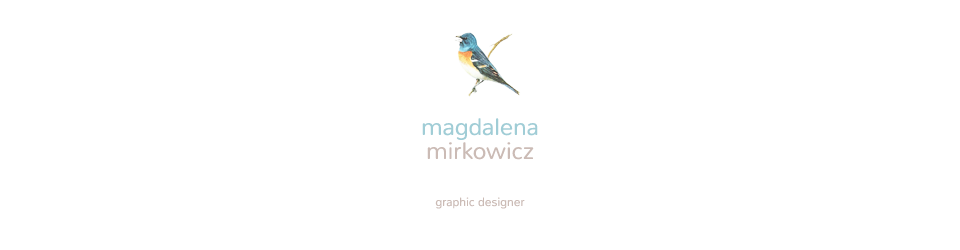 Magdalena Mirkowicz / graphic designer