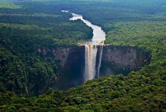 Cachoeira Kaieteur, Guiana