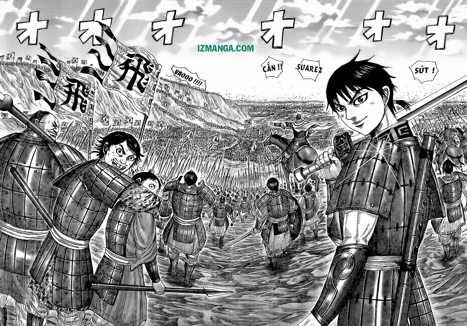 Kingdom - Vương Giả Thiên Hạ Chapter 367 page 19 - IZTruyenTranh.com