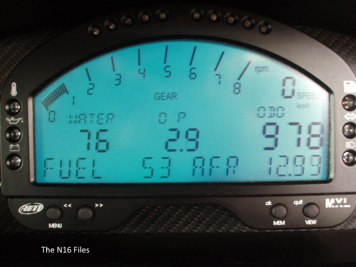 The N16 Files: AIM MXL Strada Icon Dash Display