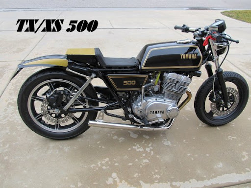 xs tx 500 model history facts and tips according to dave u k rh xs500 blogspot com Yamaha XS 650 Tracker Seat Yamaha XS Cafe