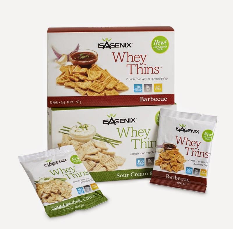 Whey Thins Isagenix giảm cân, giảm cảm giác thèm ăn