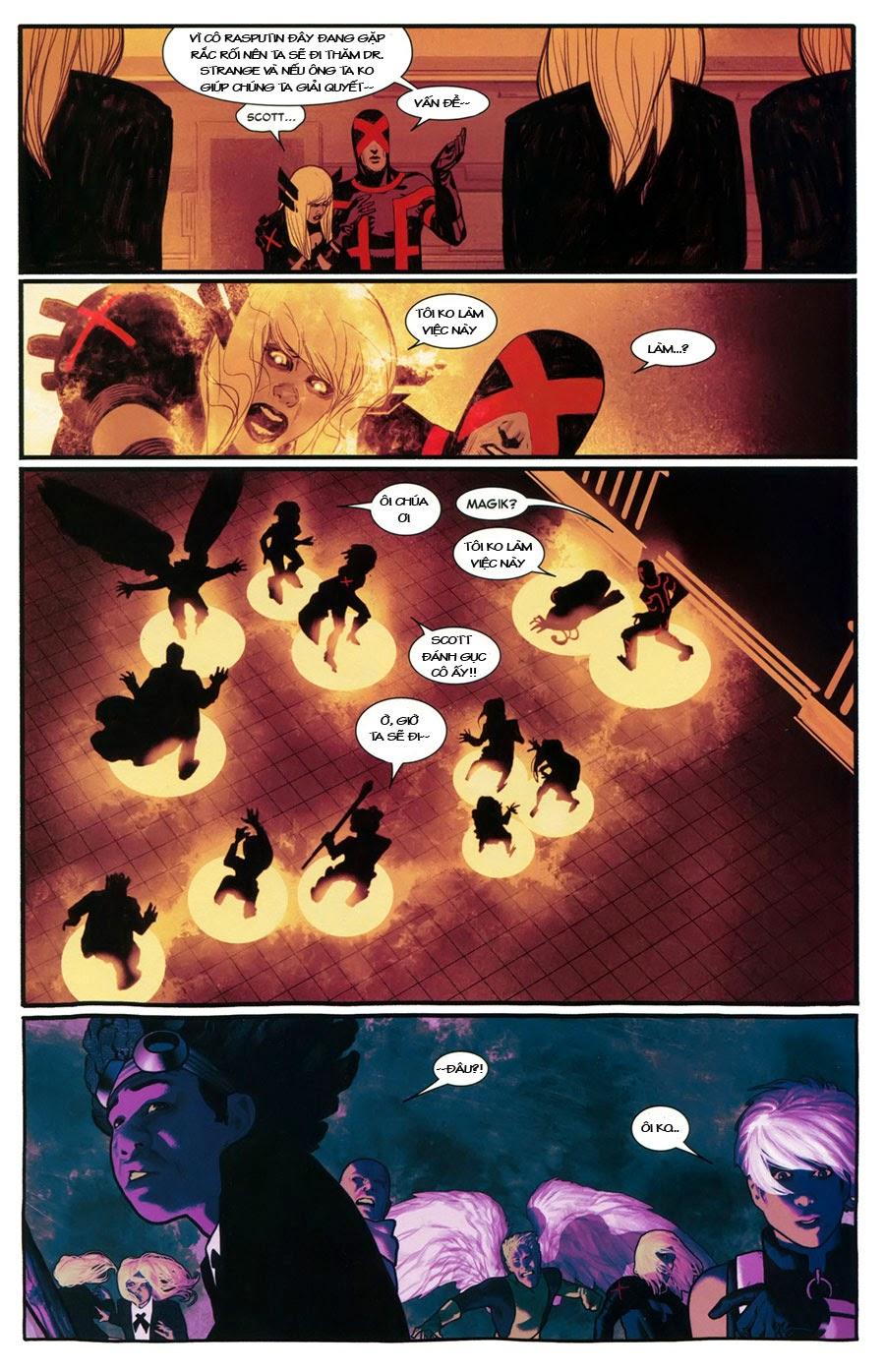 Uncanny X-Men chap 5 - Trang 19