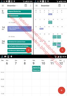 hasil menampilkan hari libur nasional indonesia lengkap di android