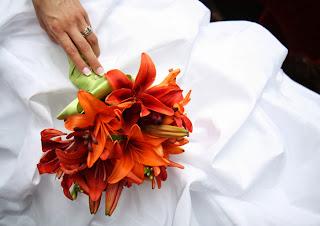 Ramos de Novias Color Naranja, parte 1