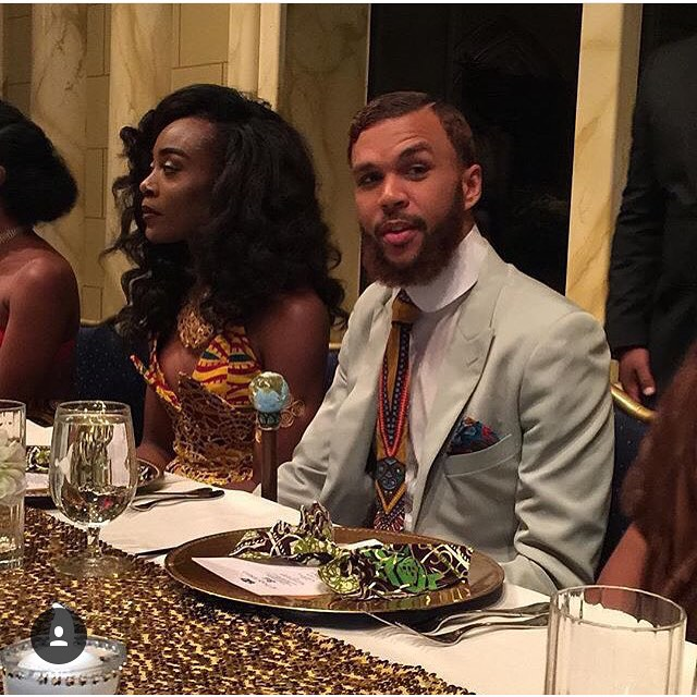 Jidenna and Jessica