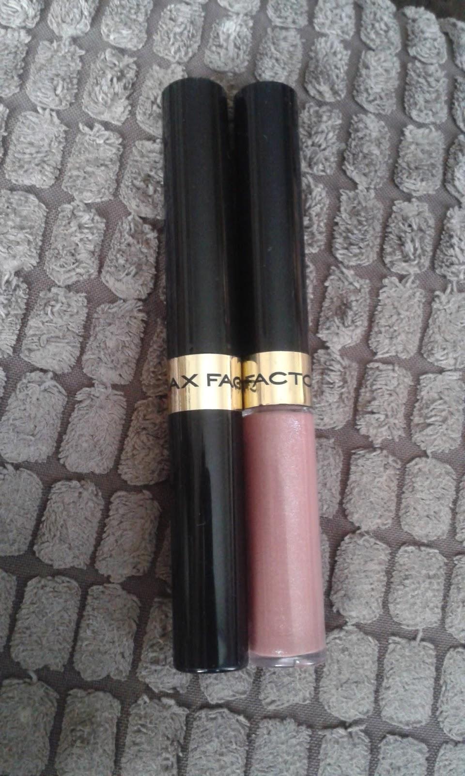 max factor lipfinity lipstick 1