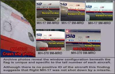 MENGEJUTKAN Benarkah MH17 Itu Sebenarnya MH370 Yang Hilang