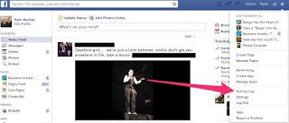 cara menghapus riwayat pencarian fb