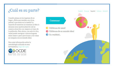 Eres rico o pobre según la OCDE?