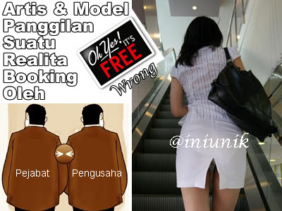 Cara Pengusaha / Pejabat Booking Artis dan Model Terkenal Papan Atas