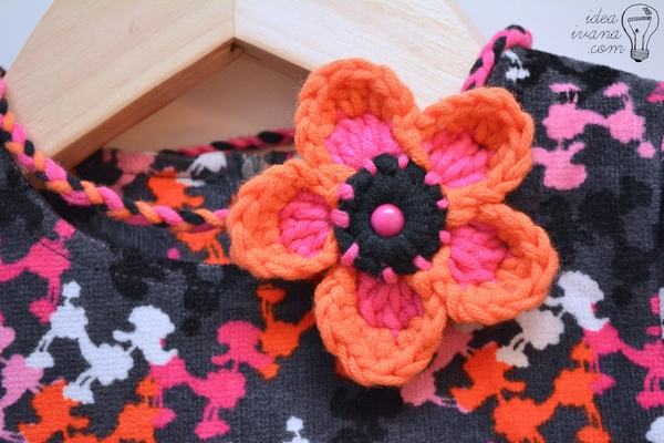 Idea Ivana No Weaving In Ends Crochet Flower Headband
