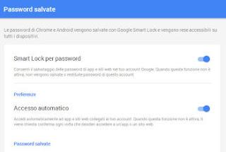 salva password google