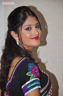 Actress-Krupali-in-Saree-Stills