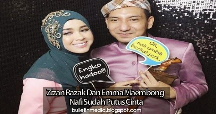 Zizan Razak & Emma Maembong Nafi Sudah Putus Cinta