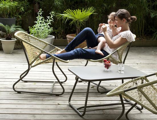 nouvelle collection fermob mixez les couleurs initiales gg. Black Bedroom Furniture Sets. Home Design Ideas