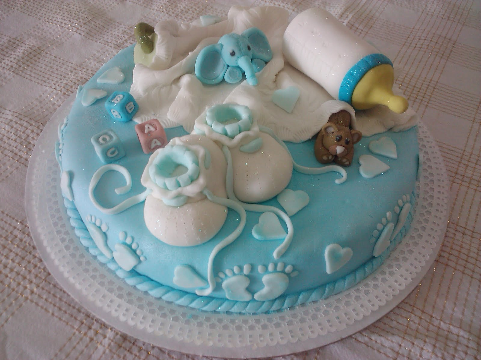 Baby Shower: Baby Shower tortas