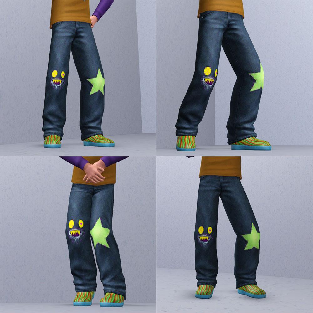Заплатка на спортивные штаны своими руками
