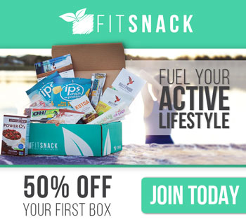 CLICK HERE FOR 50% OFF YOUR FIRST FITSNACK BOX!
