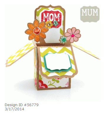 Lori Whitlock Mom box card at the Silhouette Store