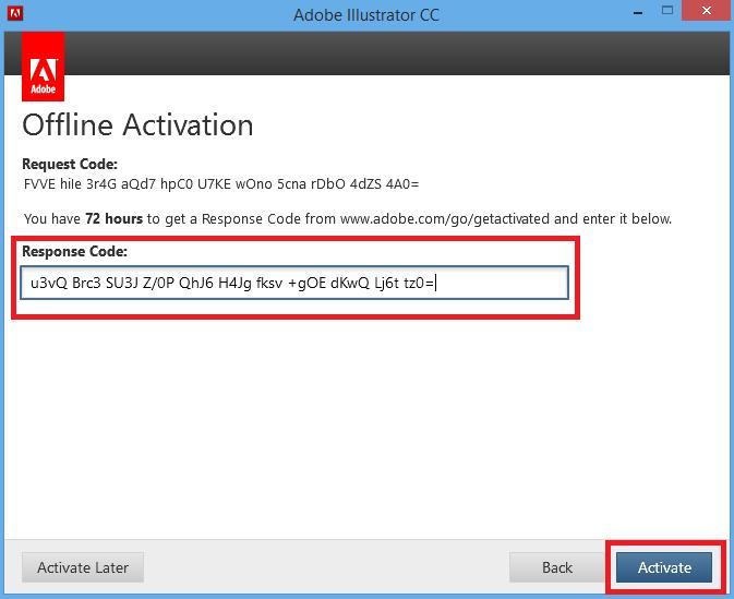 adobe offline activation crack cs6
