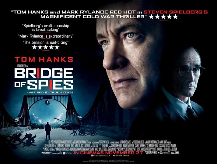 Póster: El puente de los espías (Bridge of Spies, Steven Spielberg, EE.UU, 2015).