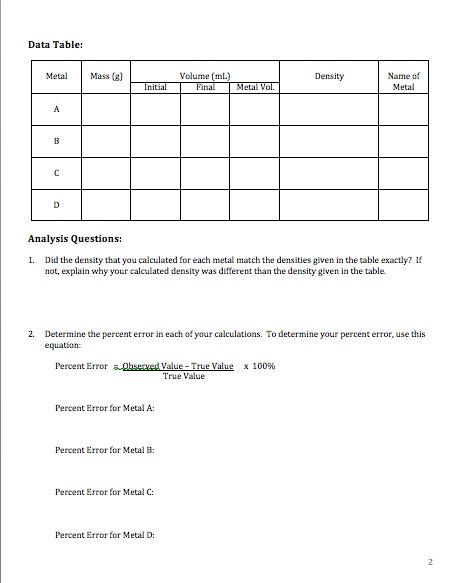 Population density worksheet pdf