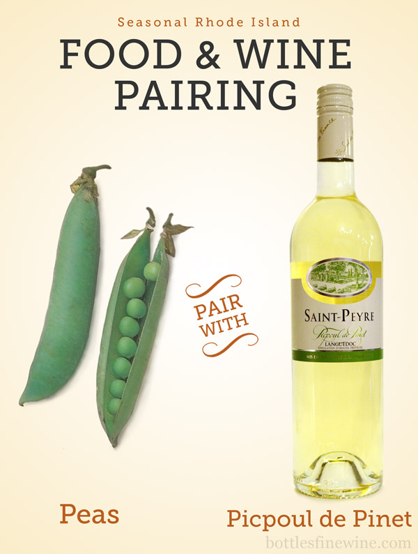 peas wine pairing