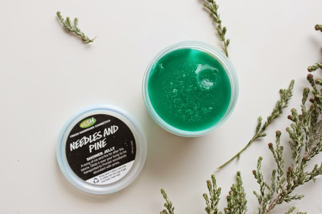 Lush Needles and Pine Shower Jelly