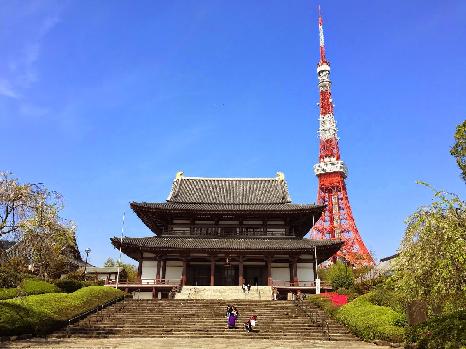 tokyo tower photos