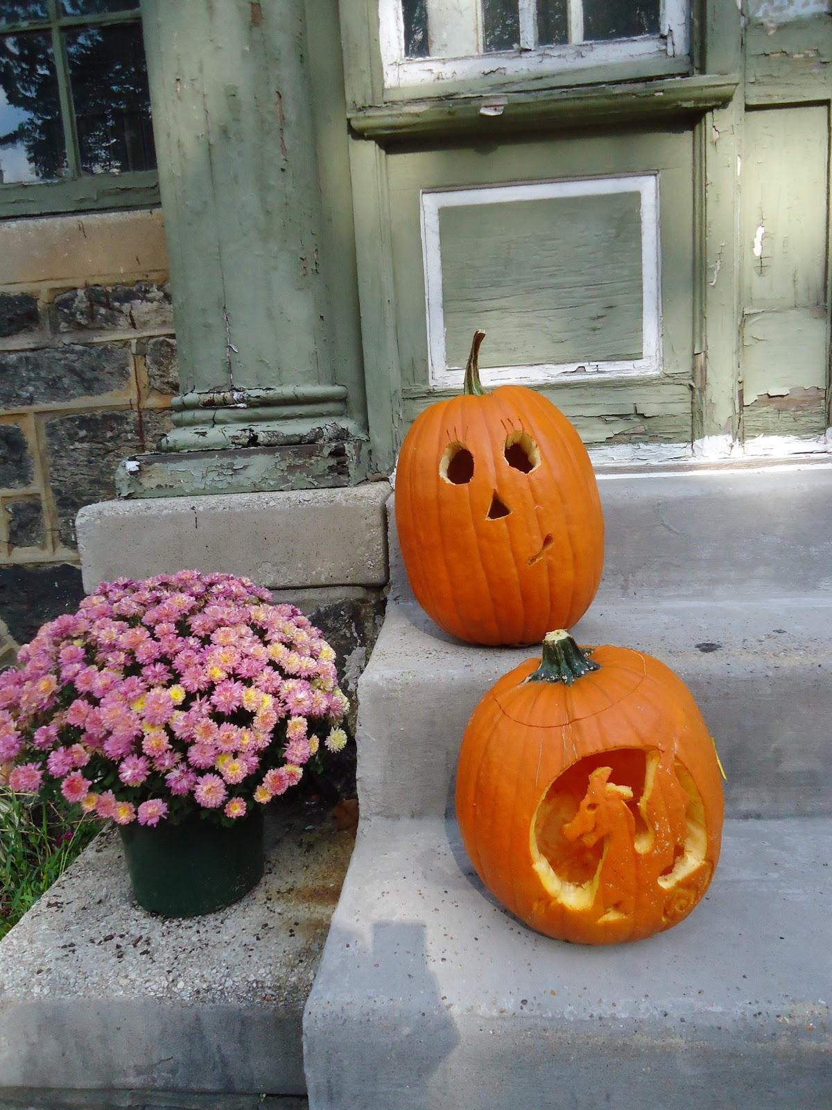 Calabazas decoradas para nios ambienta tu casa con - Calabazas decoradas ...