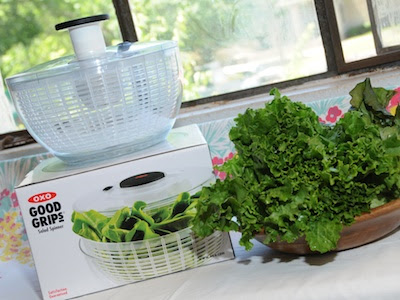 Win An OXO Salad Spinner!
