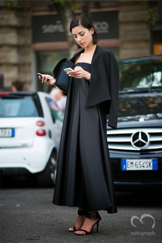 mitograph Bibi Bevza Before Jil Sander Milan Fashion Week 2014 Spring Summer MFW Street Style Shimpei Mito
