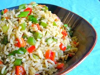 """<img src=""""arroz-carbonara.jpg"""" alt=""""el arroz a la carbonara dietético se prepara usando arroz integral y jamón bajo en grasa"""">"""