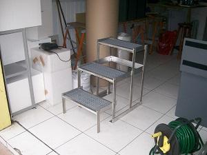escada para clinica veterinária